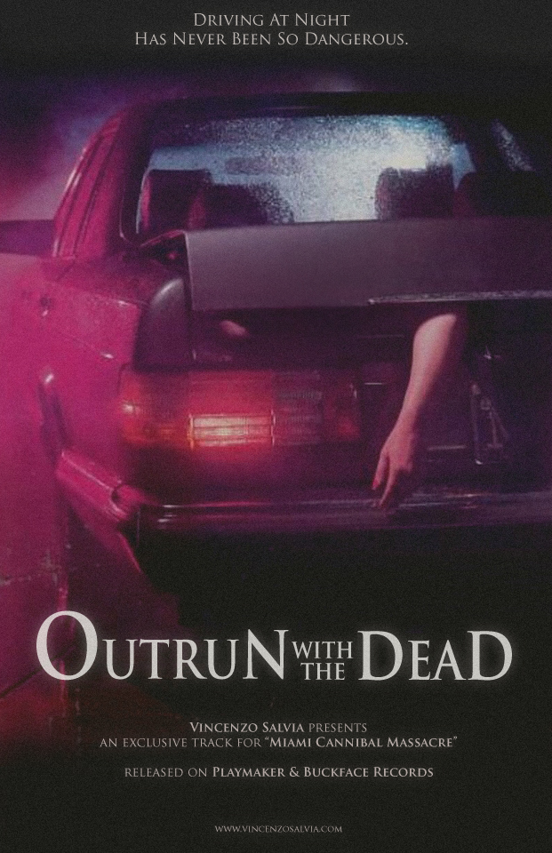 OutRun with the dead poster